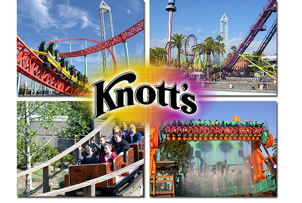 Visiting Knott's Berry Farm with Small Children