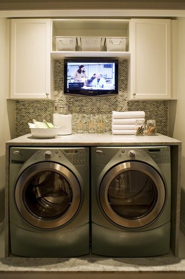 laundrytv Building a House with Pinterest   Laundry Room Edition