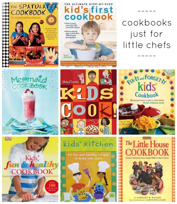little chefs cookbooks