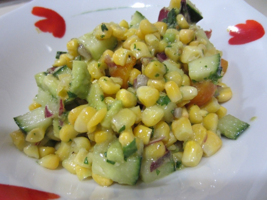 10 recipes that only include fruit and vegetables corn salad forumfinder Gallery