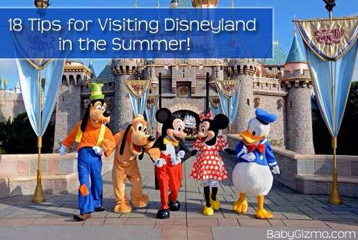 Tips On Doing Disneyland In Summer With The Heat And Crowds