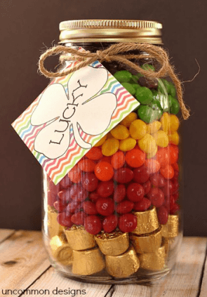 Layered Candy Jar