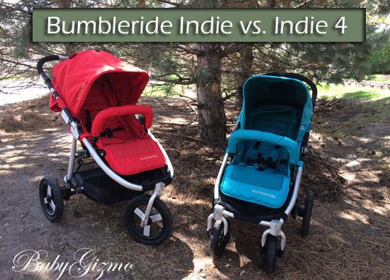 Bumbleride Indie vs Bumbleride Indie 4 Comparison Video