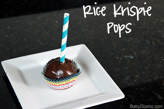 How to Make Rice Krispie Pops