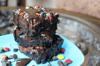 Death by Chocolate M&M Magic Bars