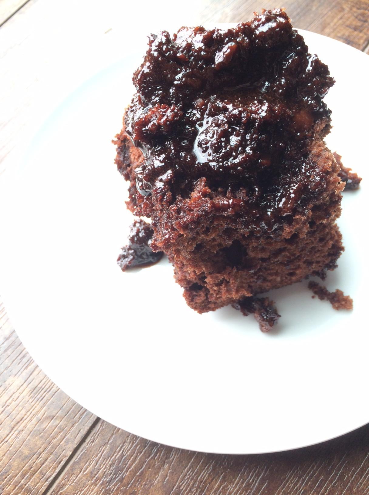 Microwave Chocolate Lava Cake