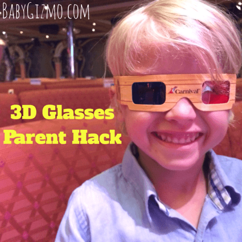 DIY 3D Glasses Parent Hack