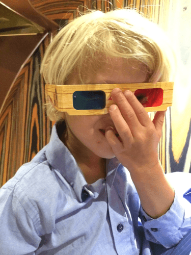 3d glasses hack for kids