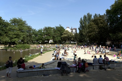 Travel Review: Bishop's Park in Fulham, London