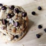 Dark Chocolate Toffee Cookies