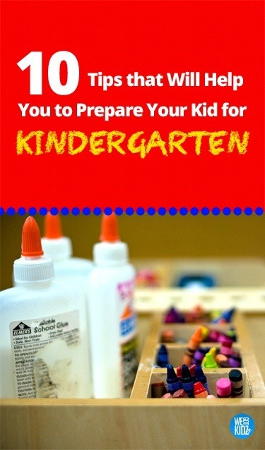 10 Tips On Preparing Your Child For Kindergarten