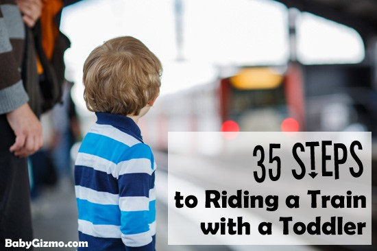 35 Steps to Riding a Train with a Toddler