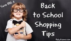 Backtoschool shopping