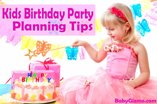 Tips On Throwing A Kid's Birthday Party