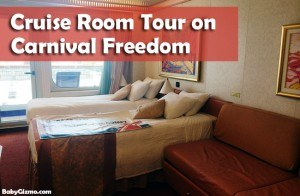 Carnival Freedom Room