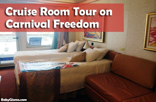Carnival Freedom Cruise Room Tour (VIDEO)