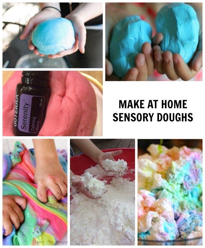 MAKE AT HOME SENSORY DOUGHS