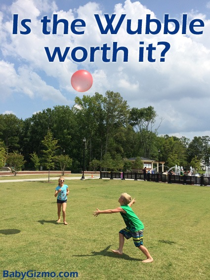 Wubble Bubble Ball Review by Kids (VIDEO)
