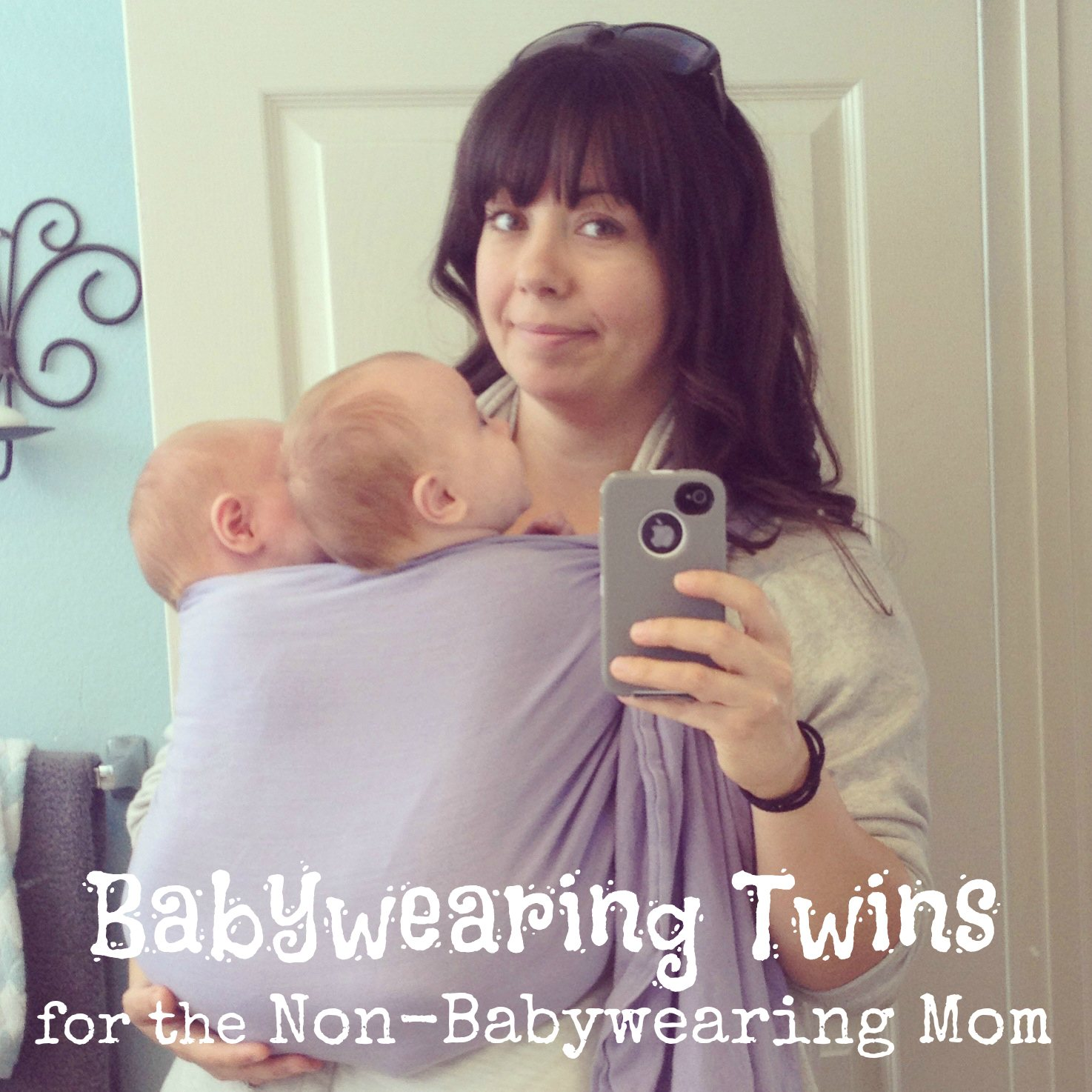 Babywearing Twins for the Non-Babywearing Mom