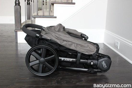 bagile4 fold Baby Gizmo Spotlight Review: Britax B Agile 4 (+Giveaway)
