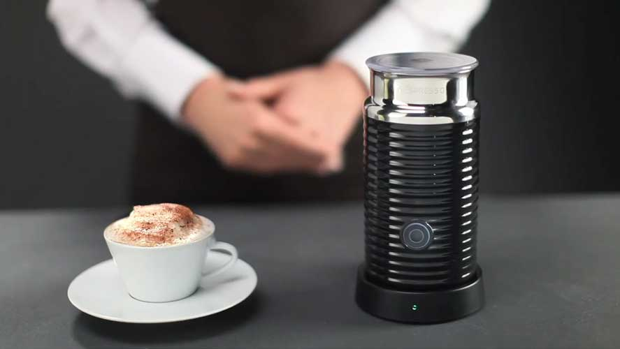 Nespresso Aeroccino 3 Gives You Milky, Frothy Coffee At Home!