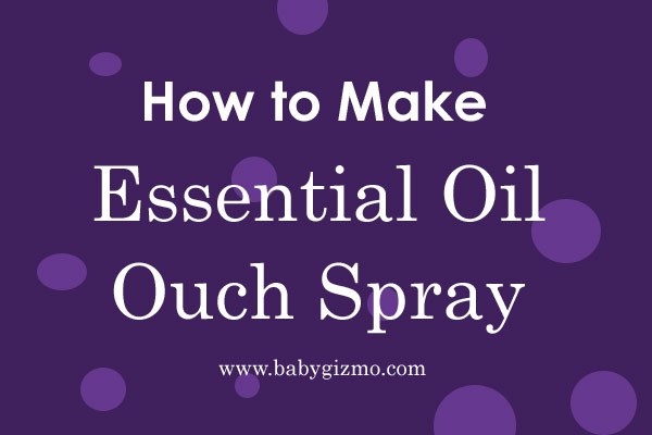 Essential Oil Ouch Spray