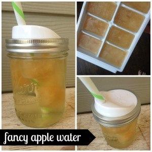 fancy apple water