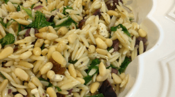 Greek Orzo Pasta