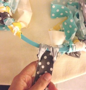 DIY Scrap Fabric Mobile