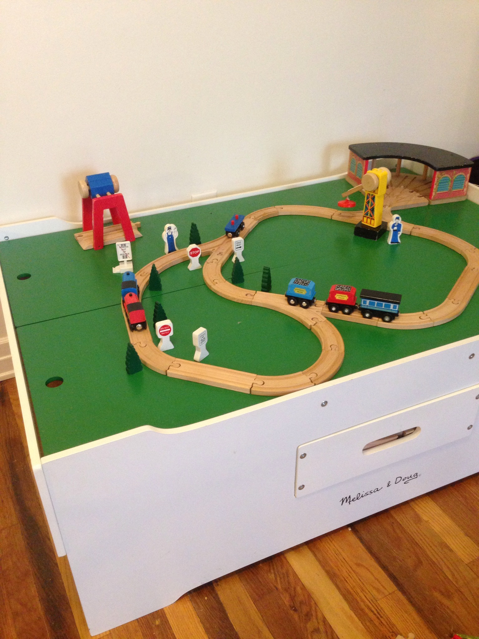Melissa And Doug Train Table Review | Baby Gizmo