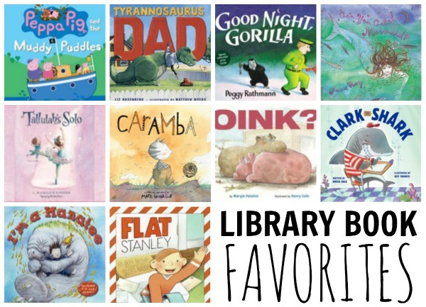 LIBRARY BOOK favorites