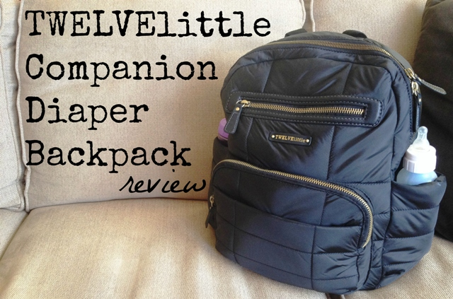 TWELVElittle Companion Diaper Backpack