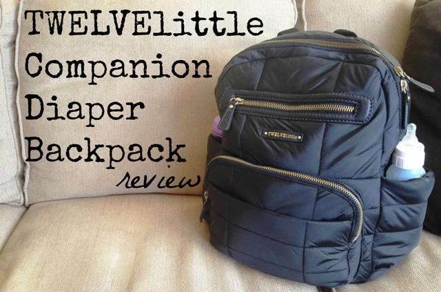 TWELVElittle Companion Diaper Backpack