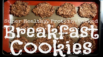 Super Healthy, Protein-Packed Breakfast Cookies