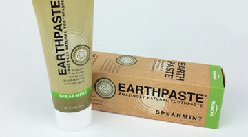 Earthpaste: A toothpaste so natural, you can swallow it!
