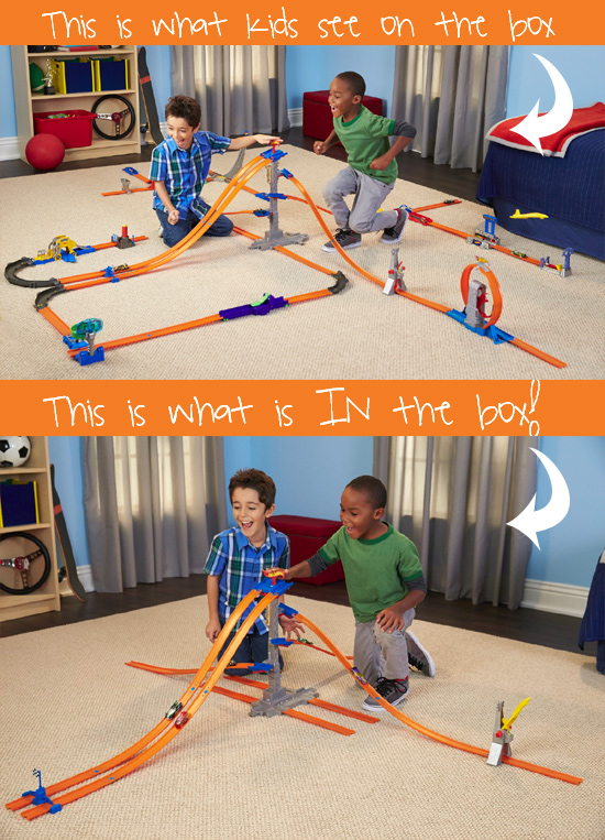 hotwheels inbox HOT WHEELS Track Builder   5 Lane Tower Starter Set Review (VIDEO)
