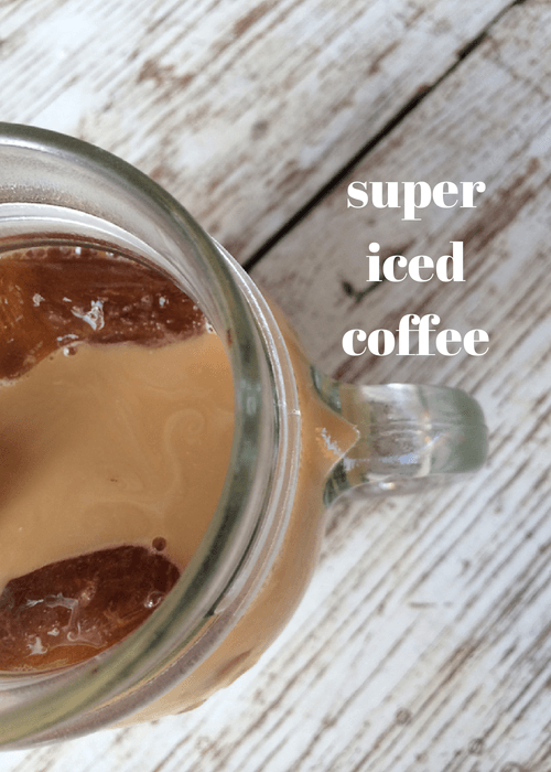super iced coffee
