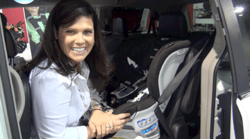 Britax ClickTight Convertible Car Seat Demo (VIDEO)