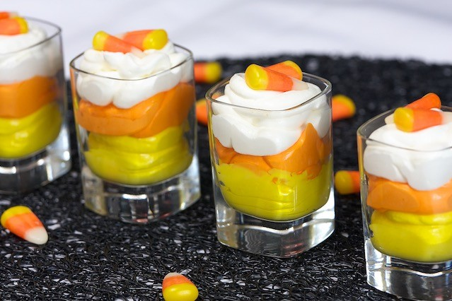 candy corn  mousse