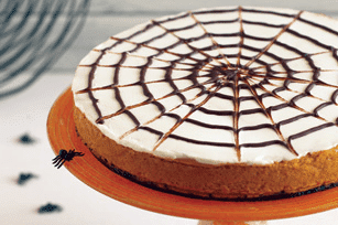 spider web cheesecake