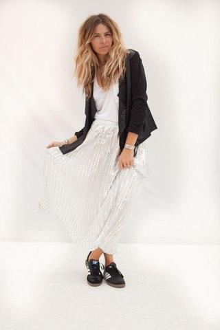 ascot hart skirt and blazer