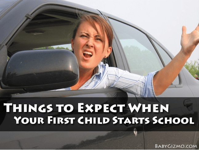 Things To Expect When Your First Child Starts School
