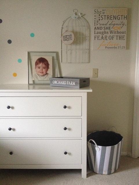 Twin Nursery on a Budget