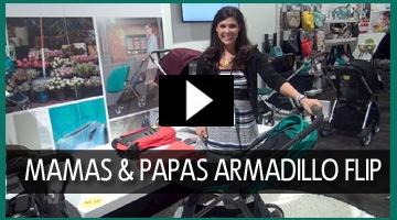 Mamas & Papas Armadillo Flip Stroller (VIDEO)