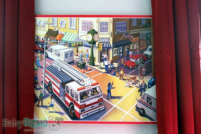 firetruck canvas