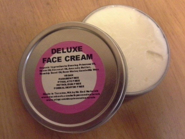 deluxe face cream