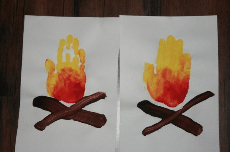 handprint campfires