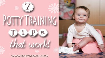Seven Potty Training Tips that Work