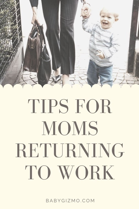 tips for mom returning to work