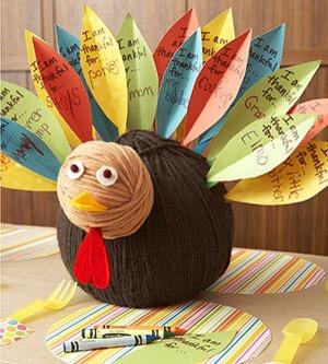 Thanksgiving craft turkey